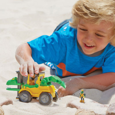 Educational Insights Dino Construction Company™—  Snap the Velociraptor Forklift Set
