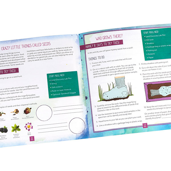 Educational Insights Nancy B's Science Club® Discovery Lab Pens & Field Journal