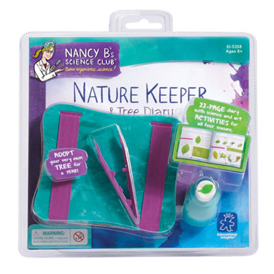 Educational Insights Nancy B's Science Club® Nature Keeper & Tree Diary