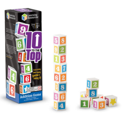 Learning Resources 10 to the Top Addition Game