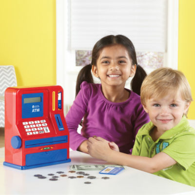 Learning Resources Pretend and Play® Teaching ATMBank