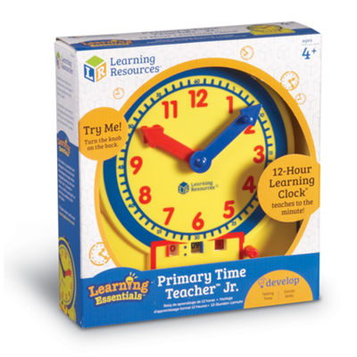 Learning Resources Primary Time Teacher™ 12-HourJunior Learning Clock®