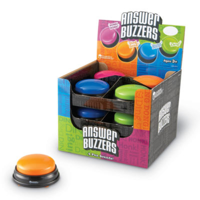 Learning Resources Answer Buzzers Set of 12 in Display
