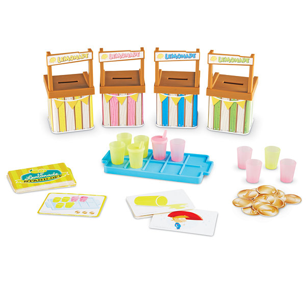 Learning Resources Lil' Lemonade Stand-Off™ A Memory Matching Game