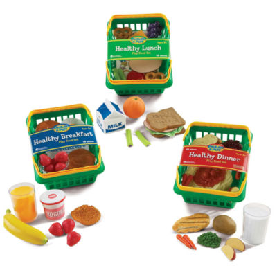 Learning Resources Pretend & Play® Healthy FoodsPlay Set Bundle
