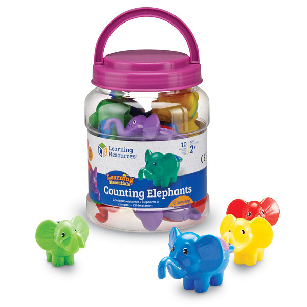 Learning Resources Snap-n-Learn™ Counting Elephants