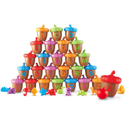 Learning Resources Alphabet Acorns Activity Set