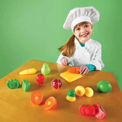 Learning Resources Pretend & Play® Sliceable Fruits & Veggies