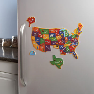 Learning Resources Magnetic U.S. Map Puzzle