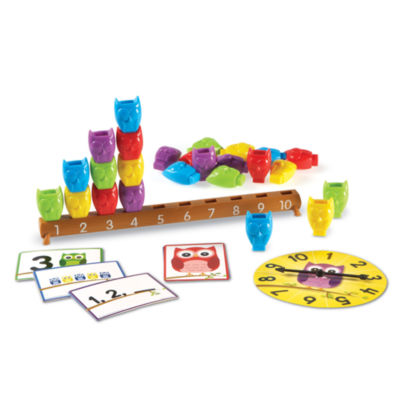 Learning Resources 1–10 Counting Owls Activity Set