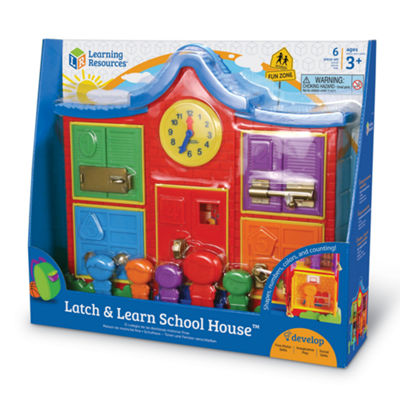 Learning Resources Latch & Learn School House™