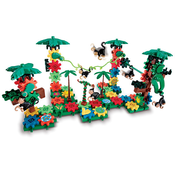 Learning Resources Gears! Gears! Gears!® Movin' Monkeys™ Building Set