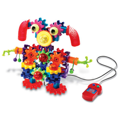Learning Resources Gears! Gears! Gears!® Wacky Wigglers® Motorized Building Set