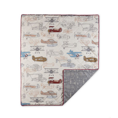 Lolli Living Aeroplanes Baby - Toddler Quilted Comforter