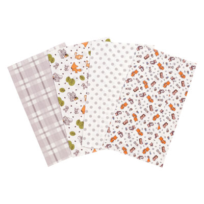 Trend Lab Wild Bunch Flannel Burp Cloth