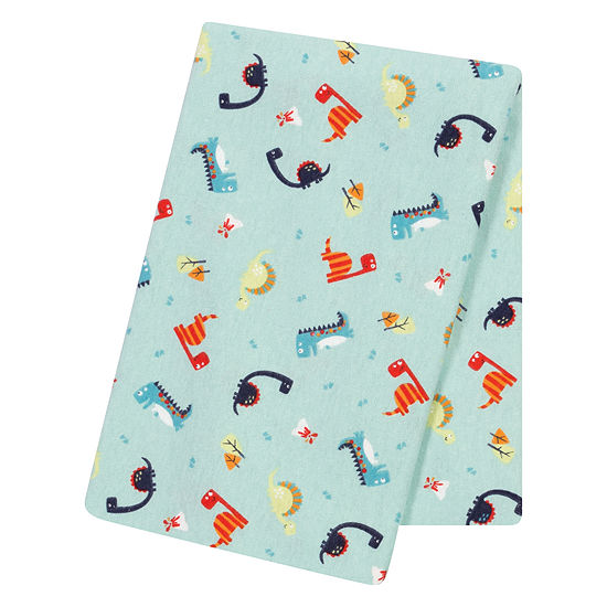 Trend Lab Dinosaurs 1 Pair Swaddle Blanket