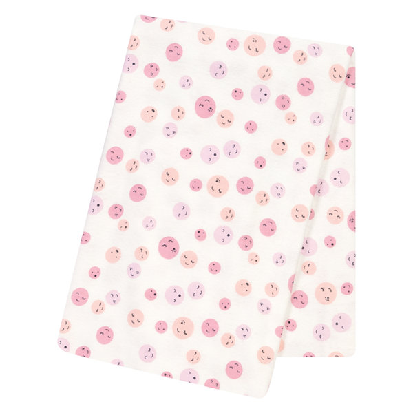 Trend Lab Be Happy 1 Pair Swaddle Blanket