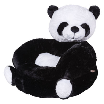 Trend Lab Plush Panda Character Kids Chair
