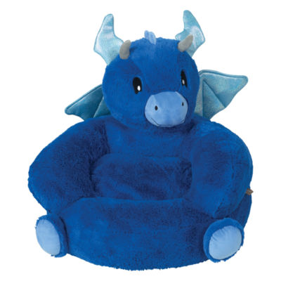 Trend Lab Plush Dragon Character Kids Chair