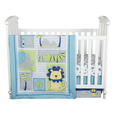 Trend Lab Jungle Roar 4-pc. Modern Crib Bedding Set