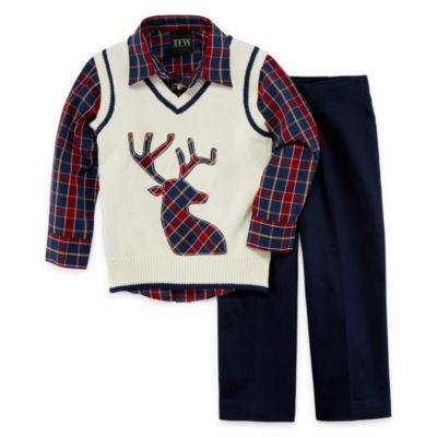 TFW 3-pc. Vest Set Toddler Boys