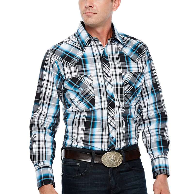 image of Ely Cattleman Plaid Snap-ppr5007238758