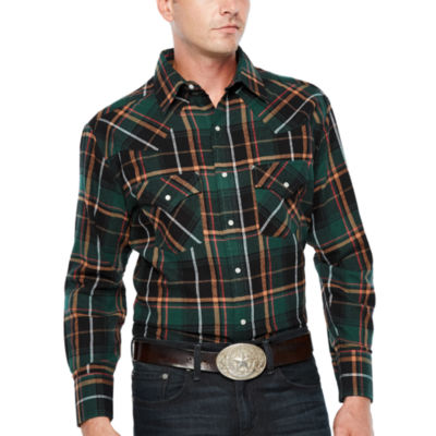 Ely 1878 Long Sleeve Flannel Western  Shirt