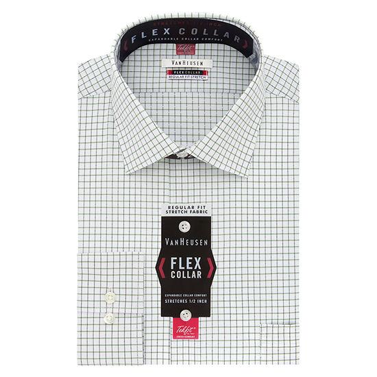 Van Heusen® Flex Collar Dress Long Sleeve Shirt - Big & Tall