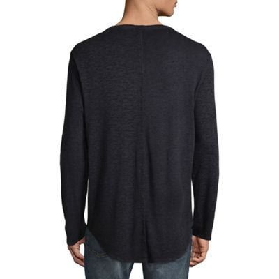 Decree Long Sleeve Crew Neck T-Shirt