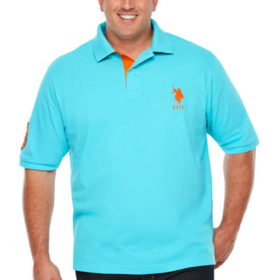 U.S. Polo Assn. Embroidered Short Sleeve Polo Shirt Big and Tall