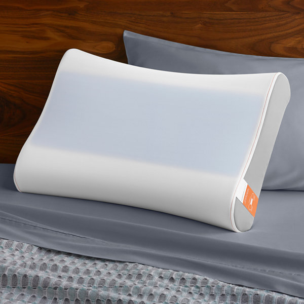 Tempur-Pedic Contour Breeze Side-To-Side Memory Foam Gel Pillow