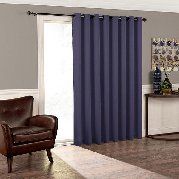 Eclipse tricia patio door room darkening grommet top door panel eclipse tricia patio door room darkening grommet top door panel curtain planetlyrics Gallery