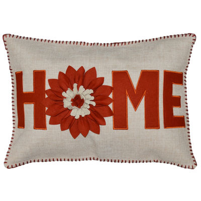 Home Rectangular Throw Pillow