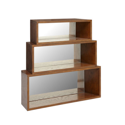 INK + IVY Clark Set of 3 Wall Shelves