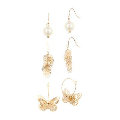 Decree 3 Pair Earring Set