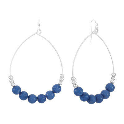 a.n.a. Beaded Drop Earrings