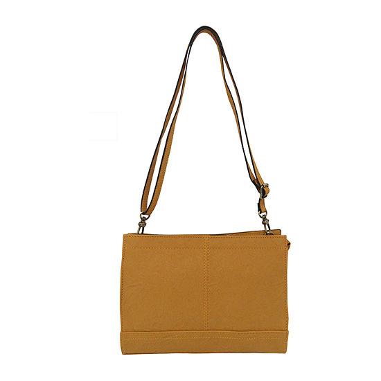 Bueno of California Tan Crossbody Bag