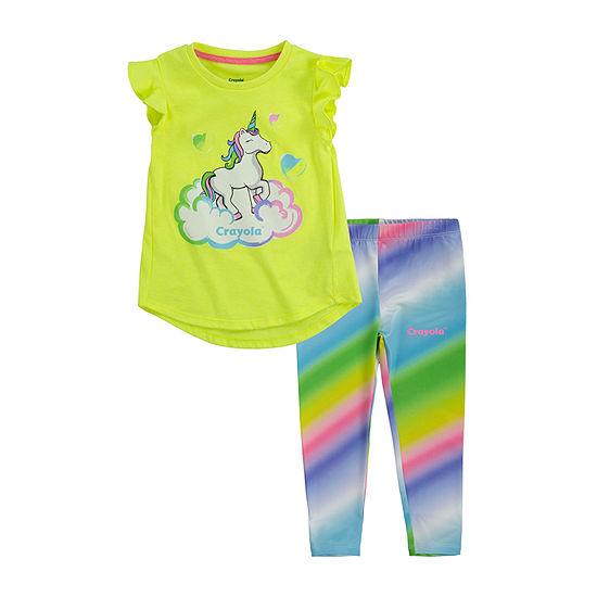 Crayola Baby Girls 2-pc. Legging Set