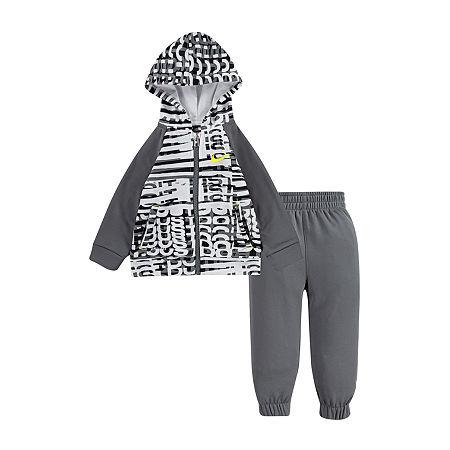 Nike Toddler Boys 2-pc. Pant Set, 3t , Gray