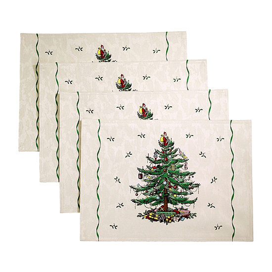 Spode Christmas Tree 4-pc. Placemat