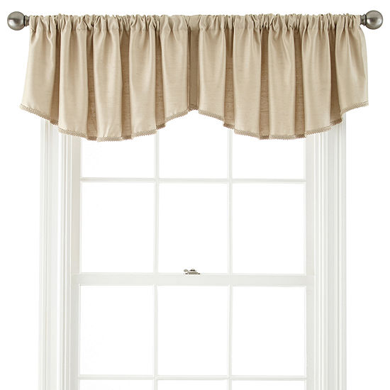 Royal Velvet Supreme Rod Pocket Ascot Valance