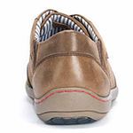 MUK LUKS® Brodi Mens Leather Lace-Up Shoes