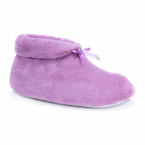 Muk Luks Micro Chenille Boot Slippers