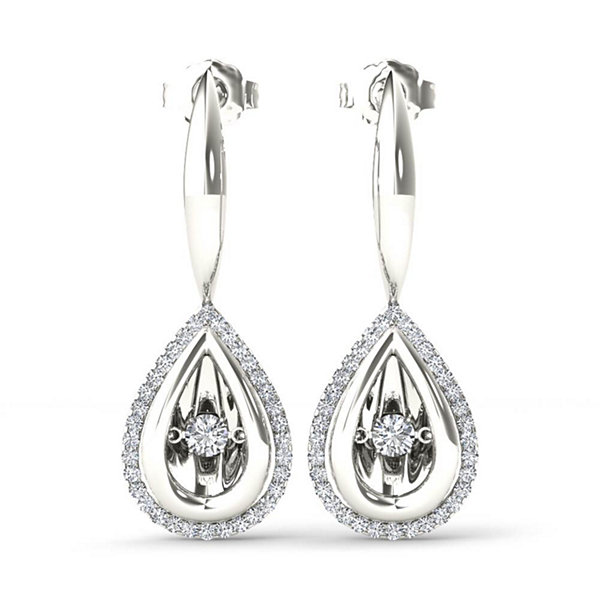Fine Jewelry diamond blossom 1/3 CT. T.W. Diamond Earrings GFeSGQEZ31