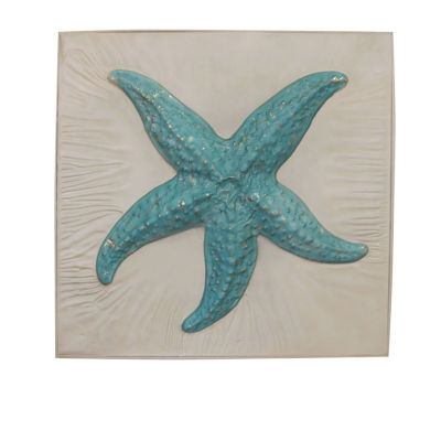 Starfish In Frame Wall Decor
