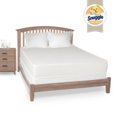 "Snuggle Home 10"" Two Sided"" Firm Tight-Top Memory Foam Mattress"