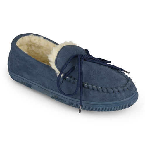 Brumby Fleece-Lined Moccasin Slippers