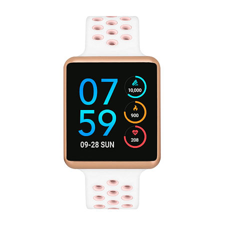 Itouch Air Se Womens Multi-Function White Smart Watch-42101r-18-H12, One Size