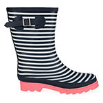 Journee Collection Womens Seattle Rain Boots Block Heel