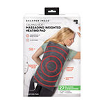 Sharper Image Calming Heat™ Massaging Weighted Heating Pad - 12 Settings